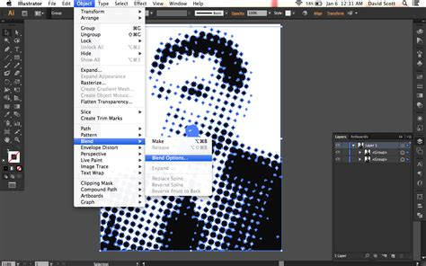 pattern options photoshop how to create an extruded halftone effect in illustrator