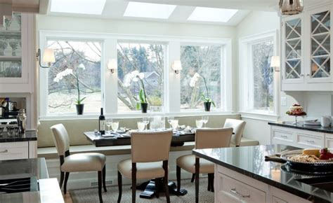 bench in the kitchen how a kitchen table with bench seating can totally
