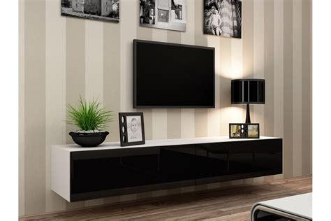 Meubles Bas Salon 1009 meuble tv mural enzo 180 madely