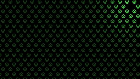 background themes xbox one x1bg logo pattern green martin crownover
