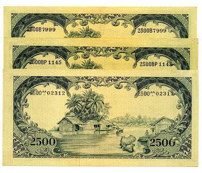 Uang Kuno 500 Rupiah 1957 Macan Langka jupitter pandawa mata uang indonesia tahun 1957