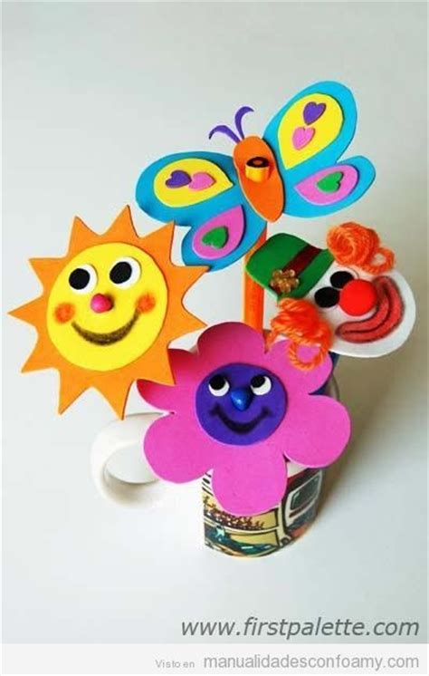 imagenes de recuerdo en fomix para el dia del nio sol flor mariposa y payaso de goma eva para l 225 pices