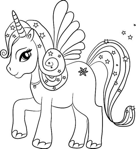 imagenes de unicornios blanco y negro vectores de colorido y blanco y negro unicornio para