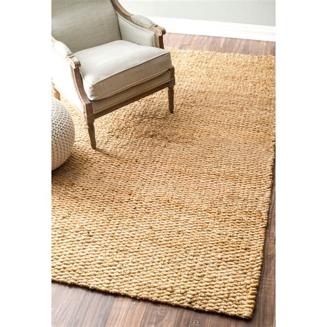 nuloom handmade jute rug 8 x 10 overstock
