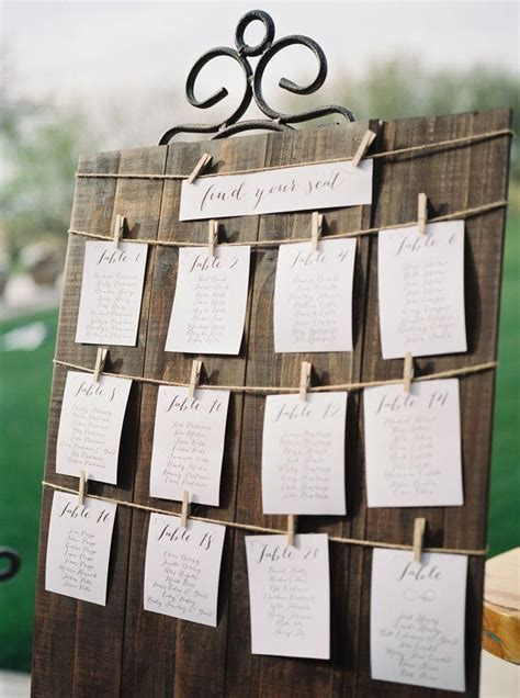 wedding seating options every last detail