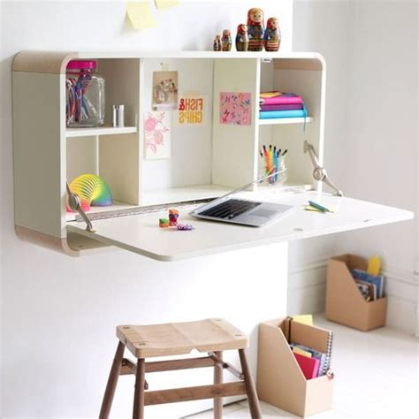 Wall Mounted Folding Desk by A Fold Out Desk For The Children To Do Homework