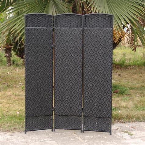 outdoor room dividers outdoor room dividers versare outdoor wicker resin room