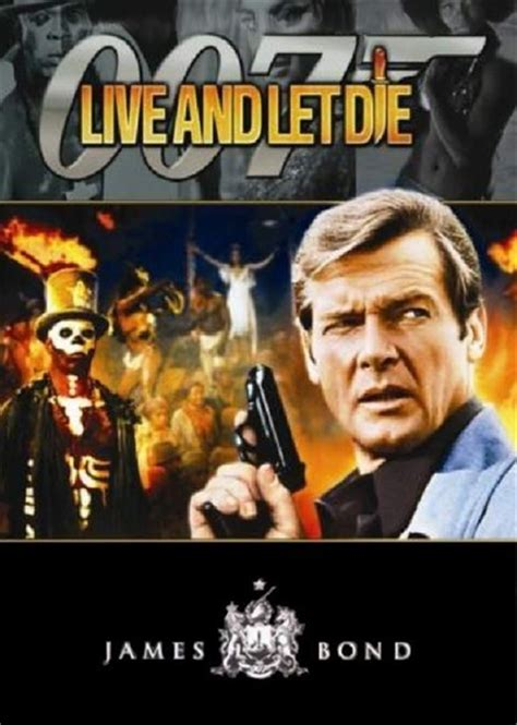 Flemming Set Original Authenticpromo March Only Live And Let Die Review 1973 Roger Ebert