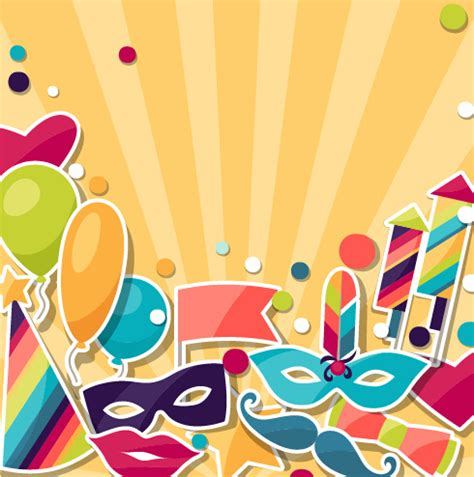 background design jpg vector carnival holiday background design free vector in