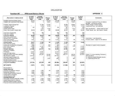 balance sheet pdf 18 balance sheet exles in word pdf free