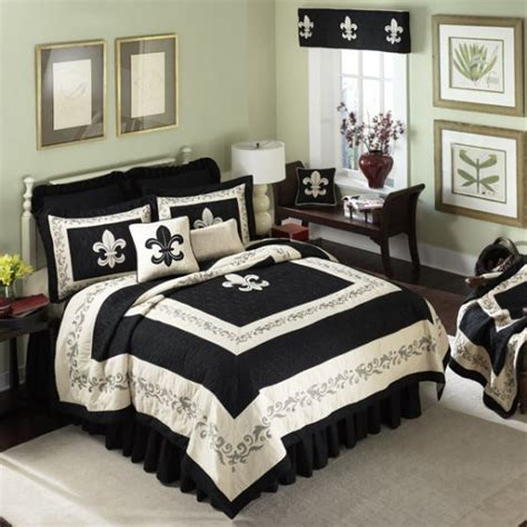 fleur de lis comforter fleur de lis scrolls tan quilted bedding collection