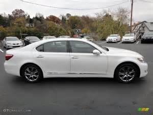 2012 Lexus Ls 460 Awd Starfire White Pearl 2012 Lexus Ls 460 L Awd Exterior
