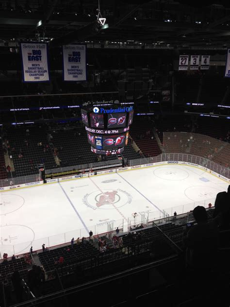 section 9 game devils game prudential center section 229 review