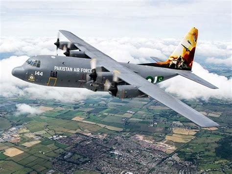 zarb e azb themed paf c 130 wins trophy at uk air tattoo
