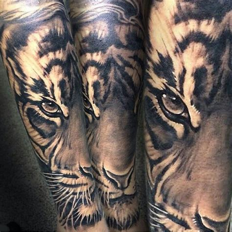 tiger and lion tattoo designs tiger sleeve tattoos tiger
