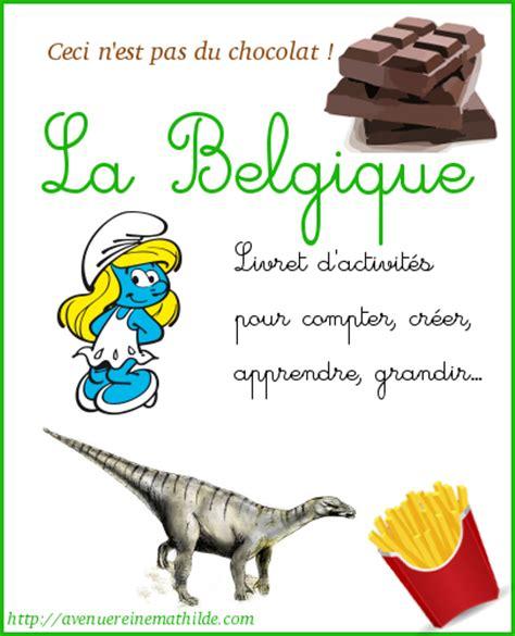 Livret D Activit 233 S Sur La Belgique Ressources