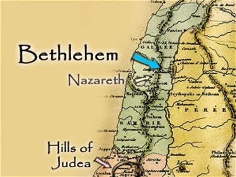 map of bethlehem and jerusalem 12 22 13 message the road to bethlehem joseph and