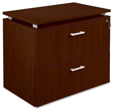 Mahogany Lateral File Cabinet Lorell Concordia Series Mahogany Lateral File Transitional Filing Cabinets By Homesquare
