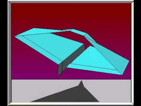 saturns pattern youtube how to fold the saturn paper airplane youtube