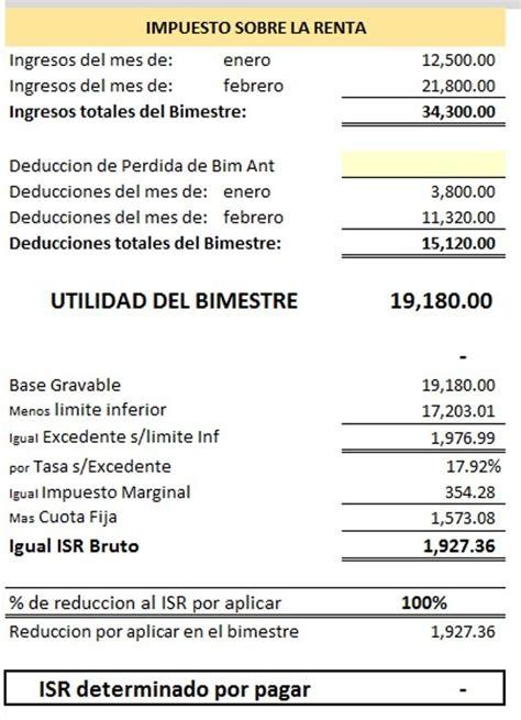 declasracion de impuestos tabulador calculadora sueldos 2015 autos post