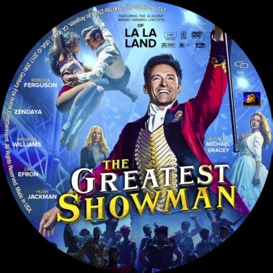 the greatest showman dvd covers & labels by covercity