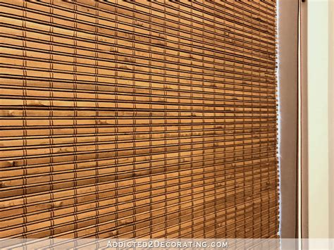 woven shades beautiful new woven shades in my breakfast room living room