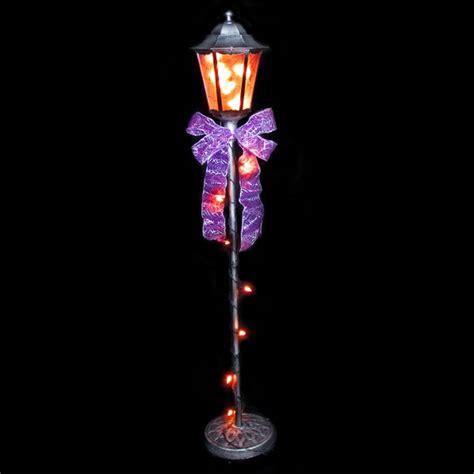 light post decorations lighted l post