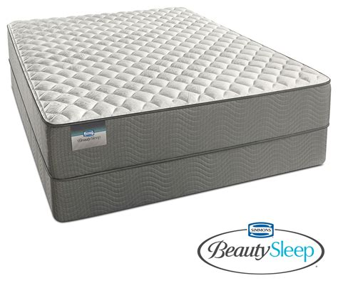 twin bed and mattress set alpine white firm twin mattress and foundation set value city furniture
