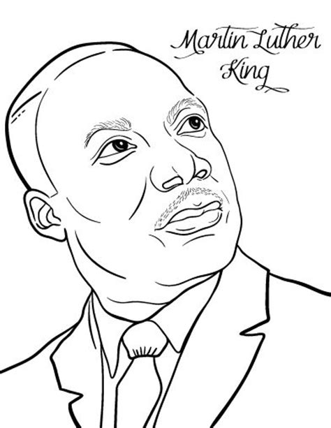 coloring pages for martin luther king jr martin luther king jr coloring pages and worksheets best