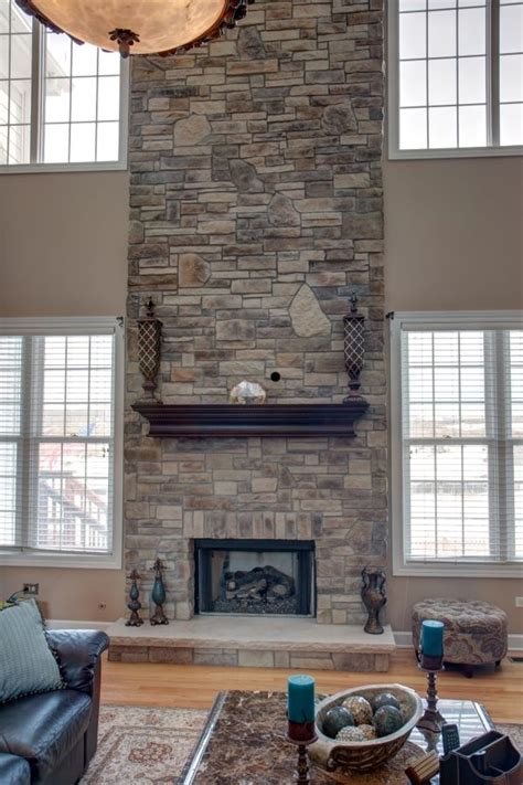 remodeling   story fireplace  images