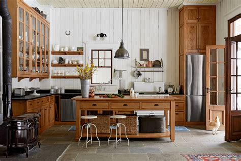 country kitchens decorating idea 8 ways to add authentic farmhouse style to your kitchen jeff and nancy wilkinson kitchen
