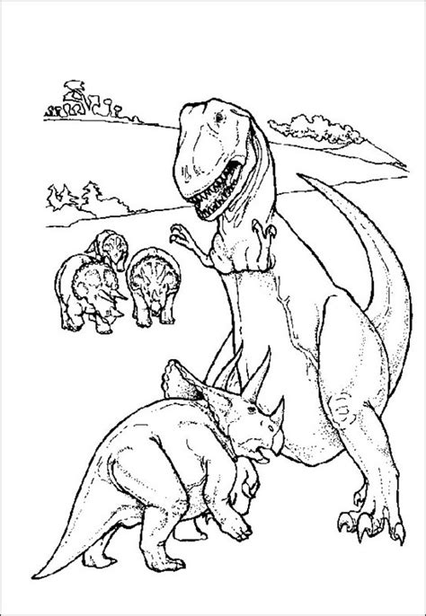 Dinosaur Printable Coloring Pages Coloring Town Printable Colouring Pages For