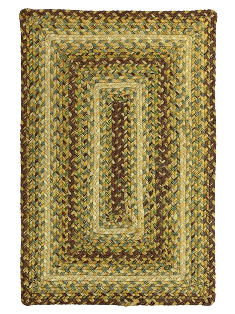 country decor rugs country walk braided indoor outdoor rug cottage home 174