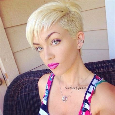 blonde pixie mohawks 17 best images about i like em short haired on pinterest
