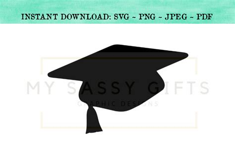 senior class   graduation cap svg