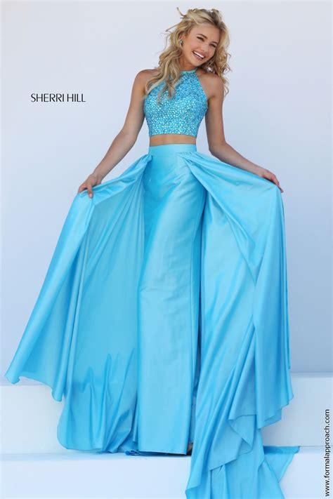 sherri hill light blue dress sherri hill 32357 prom dress prom gown 32357
