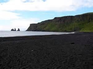 black sand beach iceland future travels pinterest