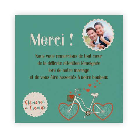 Lettre De Remerciement D Anniversaire grand remerciement invitation anniversaire mariage carte