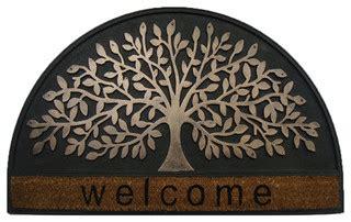 Designer Doormat by Welcome Tree Half Doormat Modern Doormats By