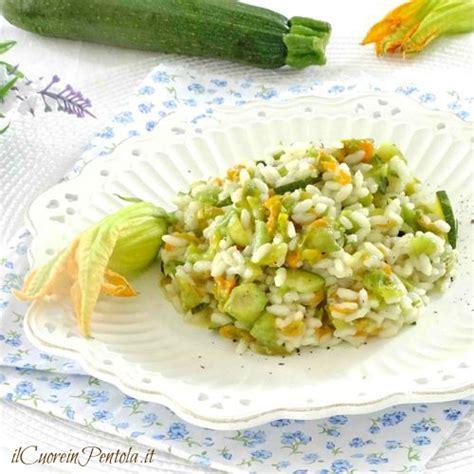 ricetta risotto ai fiori di zucca risotto ai fiori di zucca ricetta con foto il cuore in