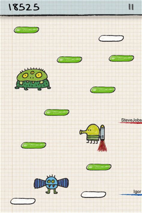 doodle jump in mobile9 doodle jump