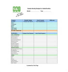 simple budget template sogol co