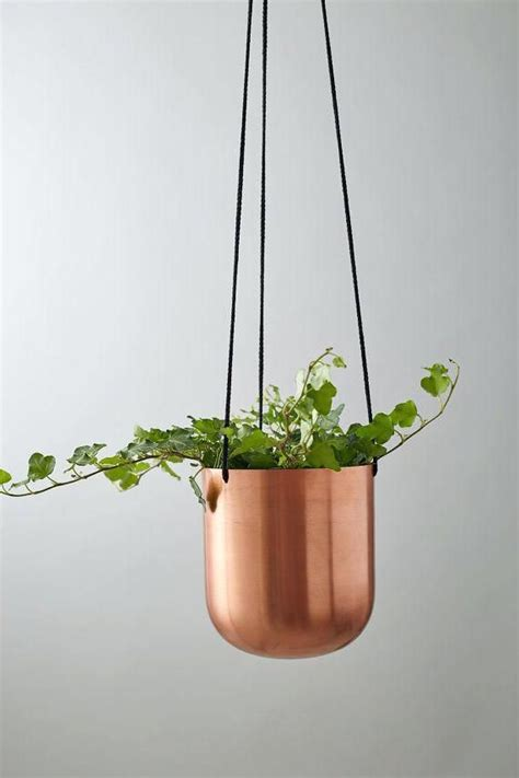 indoor plant pots  uk   copper planters ideas