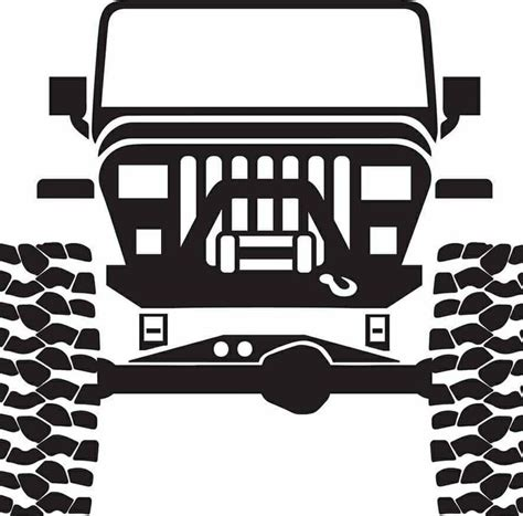 jeep grill silhouette 610 best jeep wrangler images on pinterest jeep life
