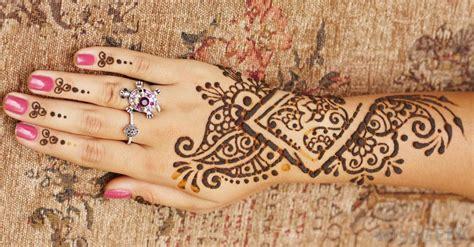 henna tattoo handfläche ricetta tatuaggi henna