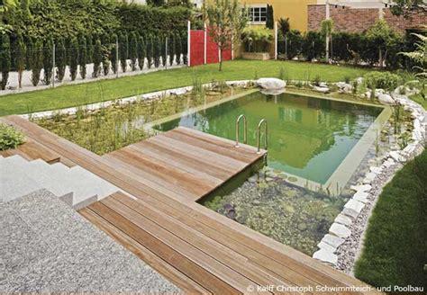 pool oder schwimmteich im garten bauen garten hausxxl