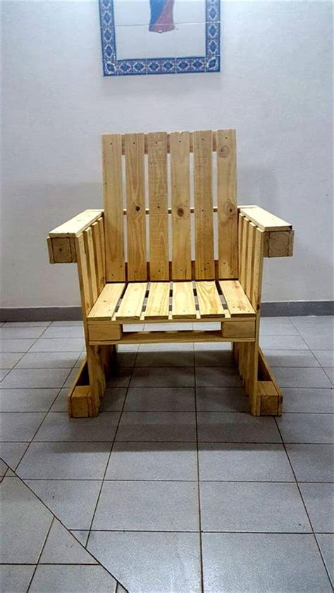 diy armchair diy pallet armchair design 99 pallets