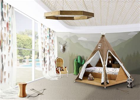 teepee bed fun design 10 fabulous teepees for that playful kids room