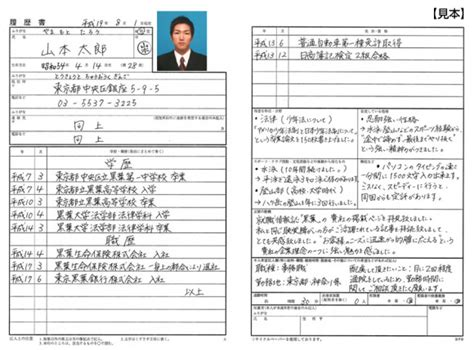 Resume Template Japanese by Resume For Japanese