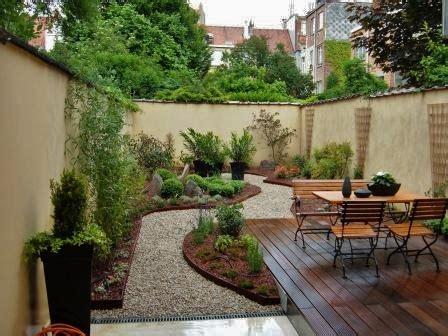 Jardin En Longueur Photos by Amnagement Jardin En Longueur Ide Duun Petit Jardin With
